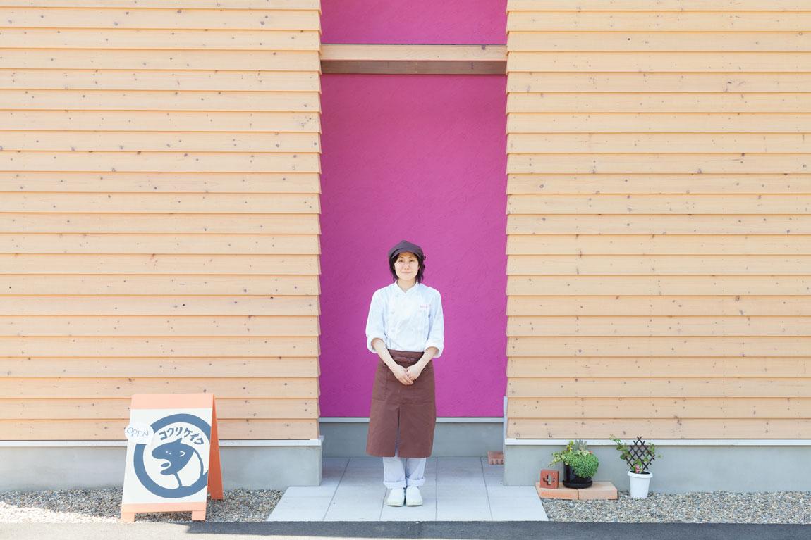 コクリ洋菓子店_お店とオーナーさん