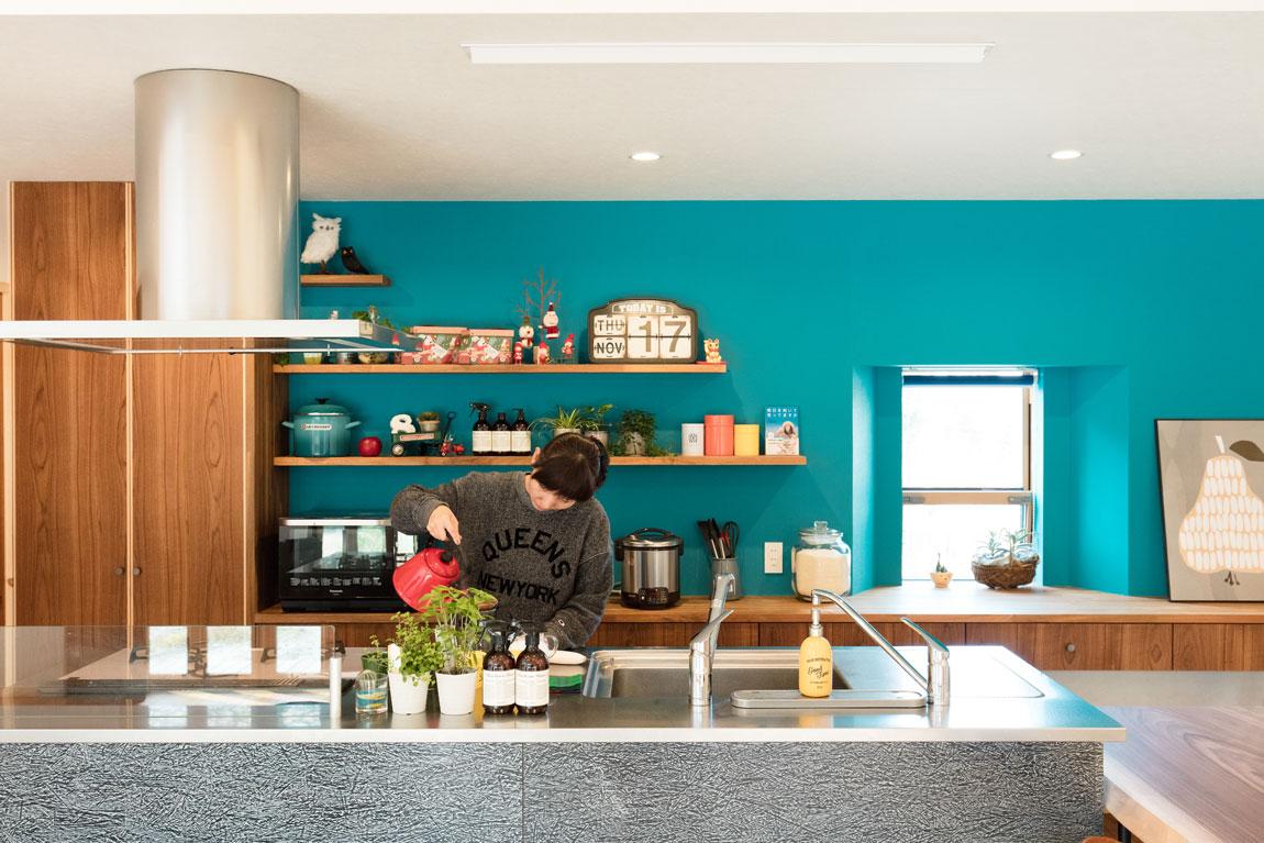 長期優良住宅の平屋_キッチン